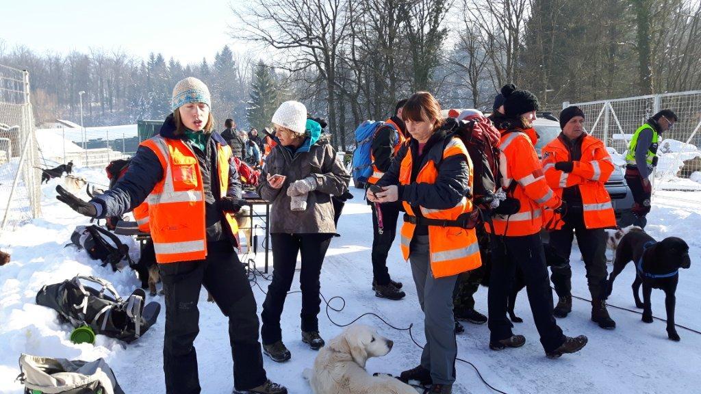 Usposabljanje OE Ljubljana, januar 2017